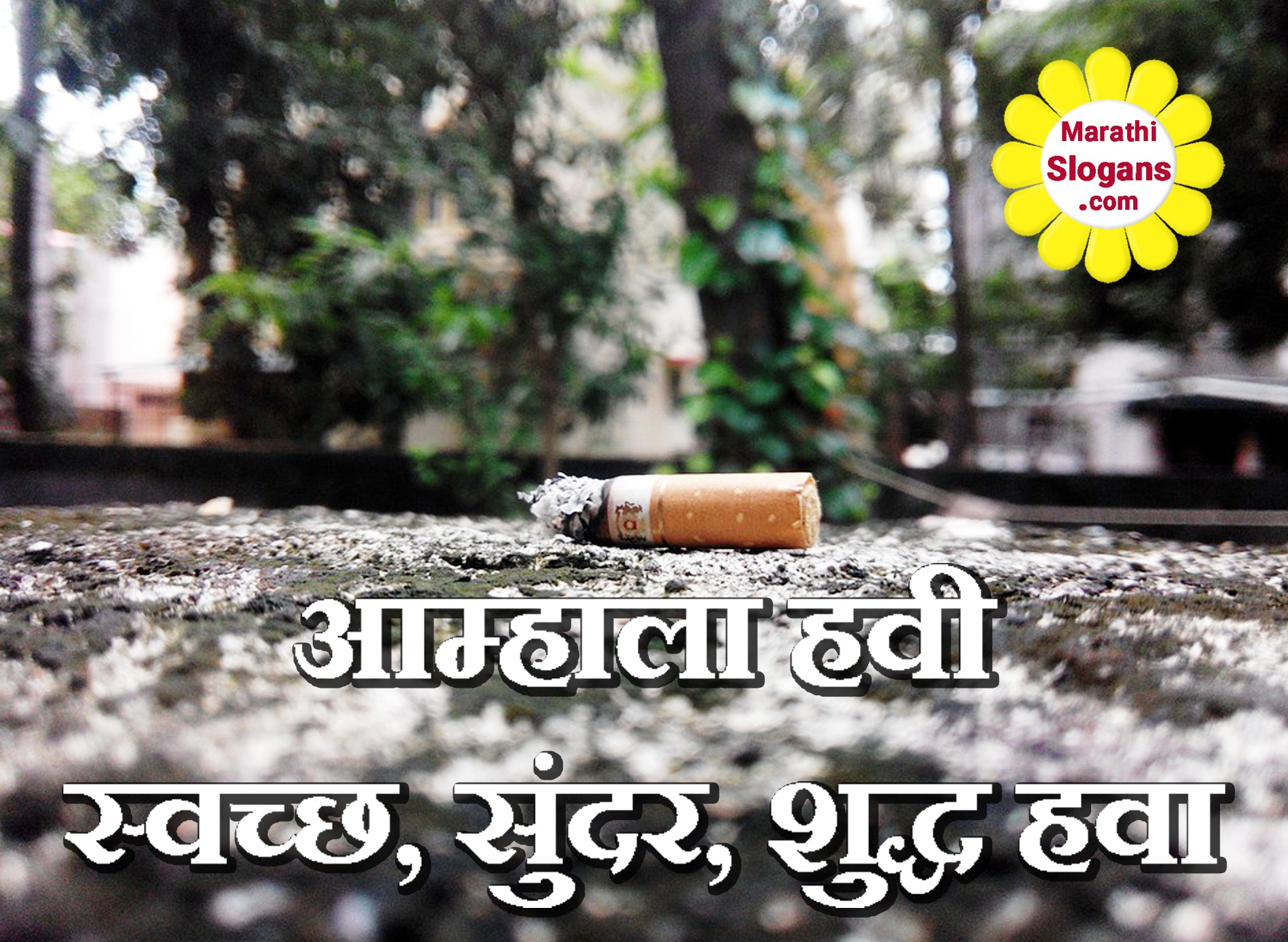 pollution in marathi Environmental problems of mumbai ced mumbai- the name conjures up images of high skyscrapers, wide roads,  pollution, population and lack of space have always.
